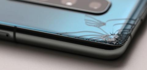 A broken phone - gadget insurance